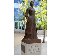 ANNA BISSELL STATUE UNVEILED ON HISTORIC FORMER SITE OF BISSELL CORPORATION