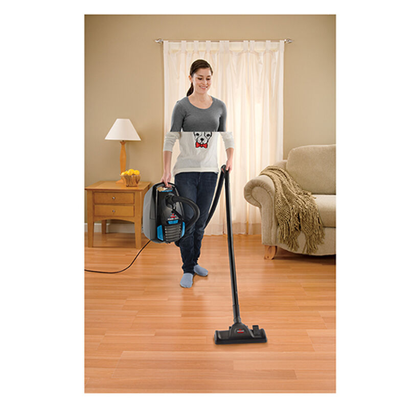 Powerforce Bagged Canister Vacuum 1668W lightweight