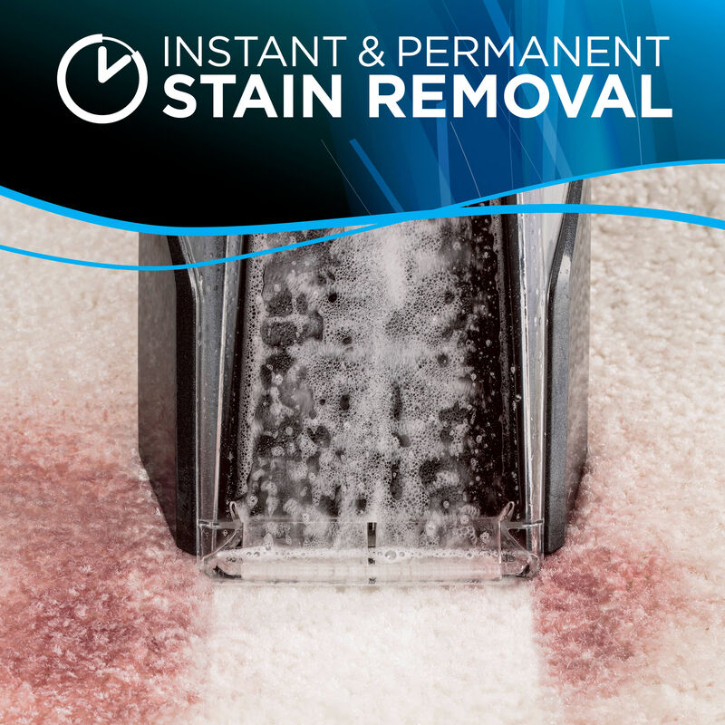 Stain Removal Text: Instant & Permanent Stain Removal