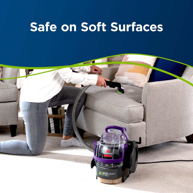 SpotClean Pet Pro Portable Carpet Cleaner 2458 Soft Surfaces