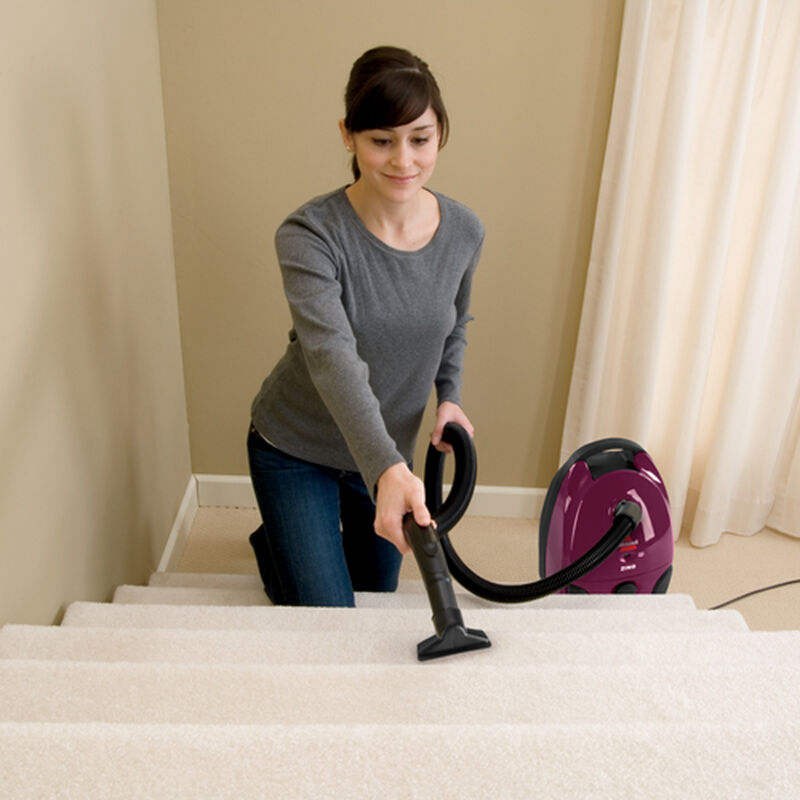 Zing Bagged Canister Vacuum Stair Vacuum