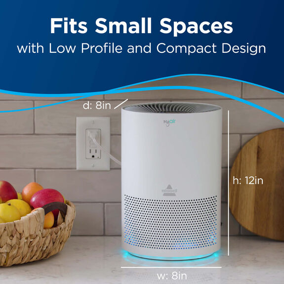 Bissell Myair Air Purifier 2780a Air Quality Products