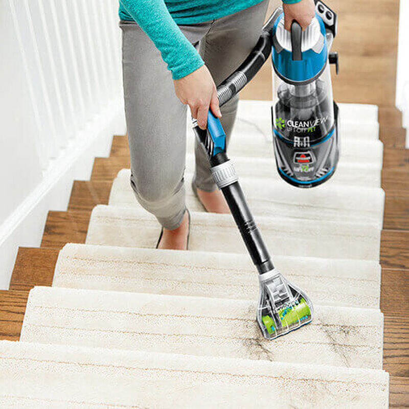 CleanView_Lift_Off_2043U_BISSELL_Vacuum_Cleaner_Stairs