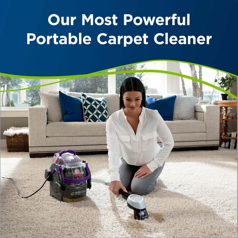 SpotClean Pet Pro Portable Carpet Cleaner 2458 Powerful