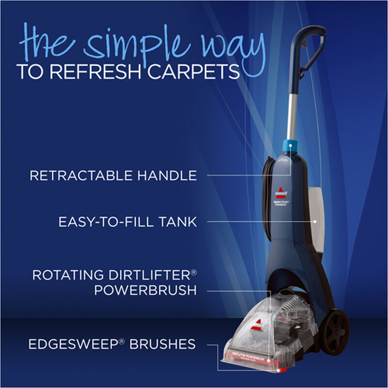 Readyclean Powerbrush Carpet Cleaner Product Features