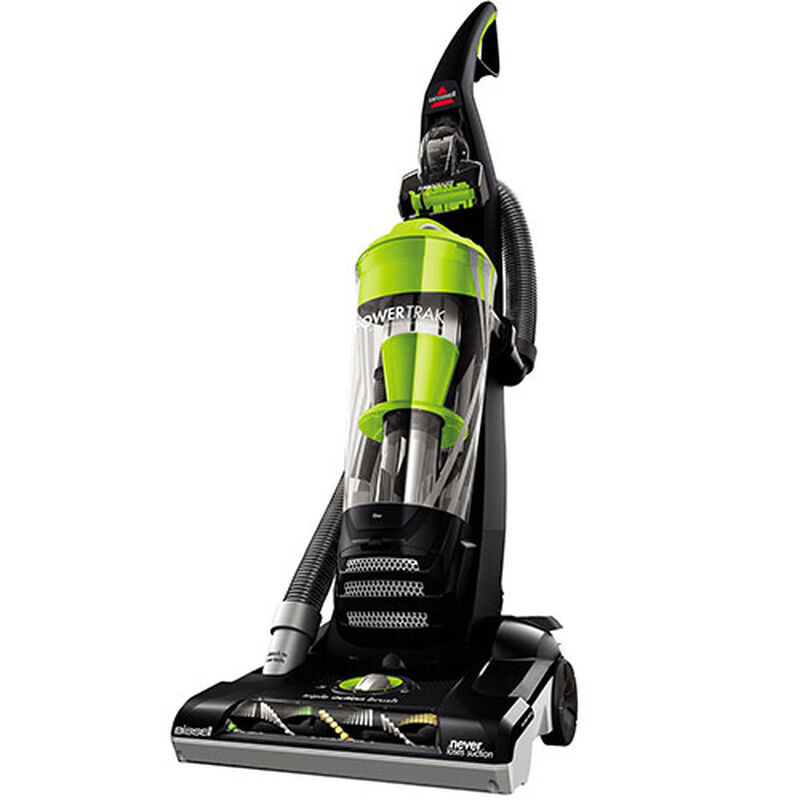 PowerTrak 1307 BISSELL Vacuum Cleaner Left Angle Lean View