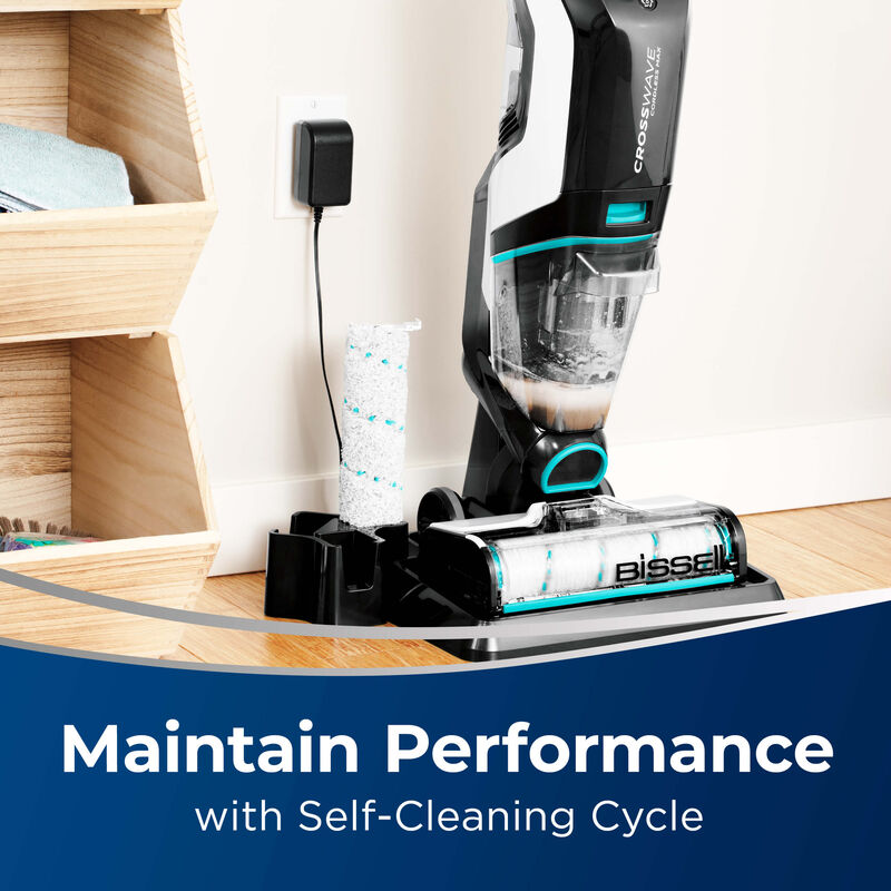 BISSELL CrossWave Cordless Max Multi Surface Wet Dry Vac Performance