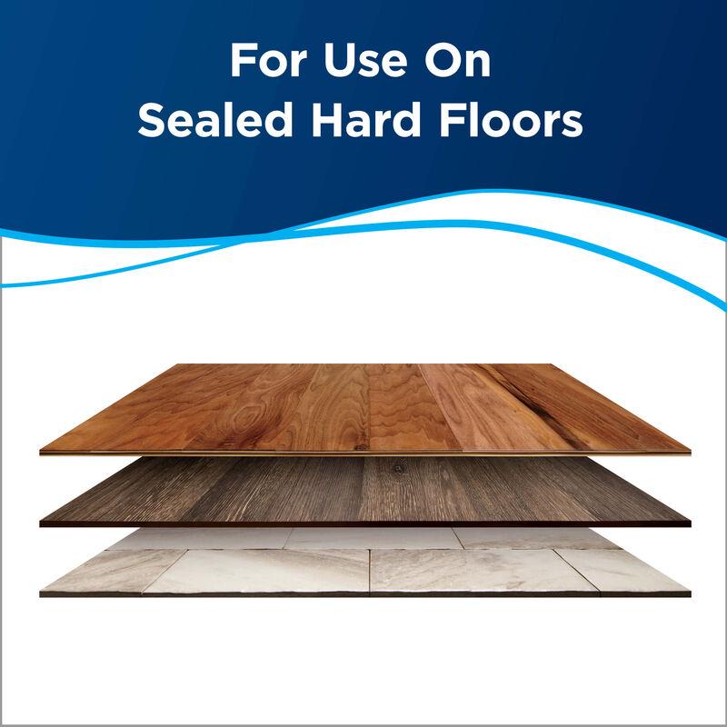 Hard Floor Sanitize 25041 BISSELL SpinWave CrossWave Formula Hard Floors