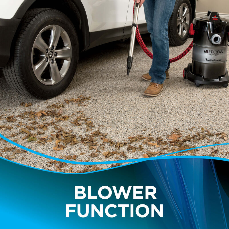 MultiClean Wet Dry Blower Feature
