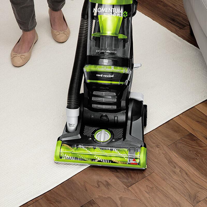 Momentum Rewind Pet 1792P BISSELL Vacuum Cleaners Change Flooring