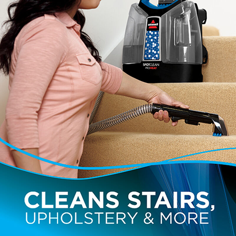 Spotclean Proheat Portable Carpet Cleaner Cleans Stairs