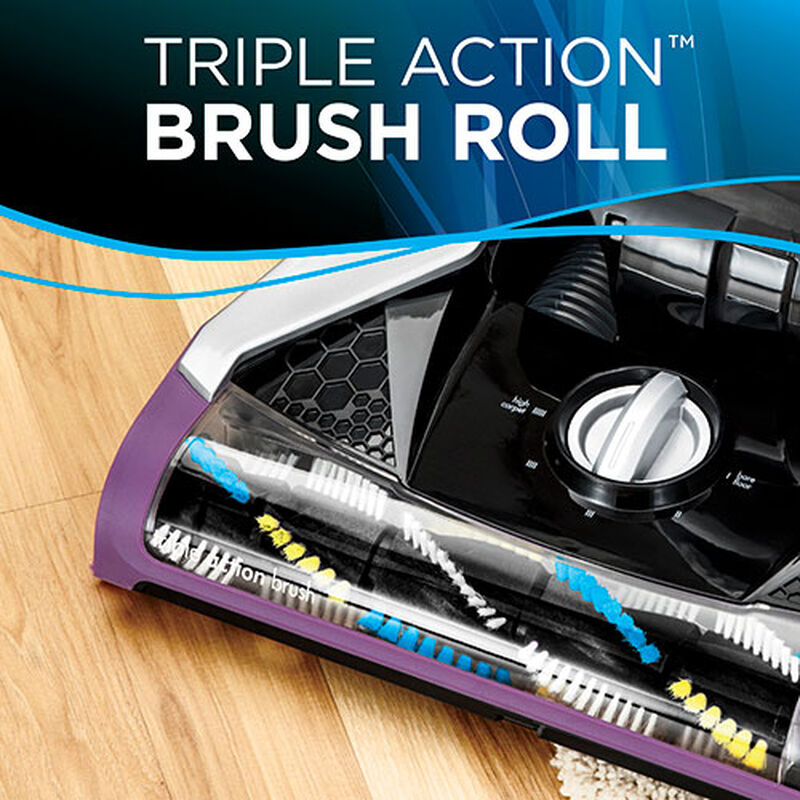 CleanView Rewind Pet Deluxe 1838 BISSELL Vacuum Cleaner Triple Action Brush Roll