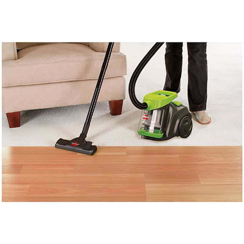 Zing Bagless Canister Vacuum MultiSurface