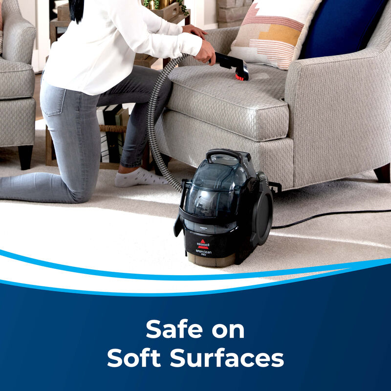 BISSELL SpotClean Pro Portable Carpet Cleaner 3624 Surfaces