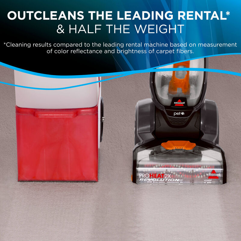 ProHeat 2X Revolution Pet Pro OutCleans Leading Rental