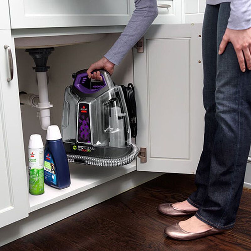 SpotClean_ProHeat_Pet_6119W_BISSELL_Portable_Carpet_Cleaner_Storage