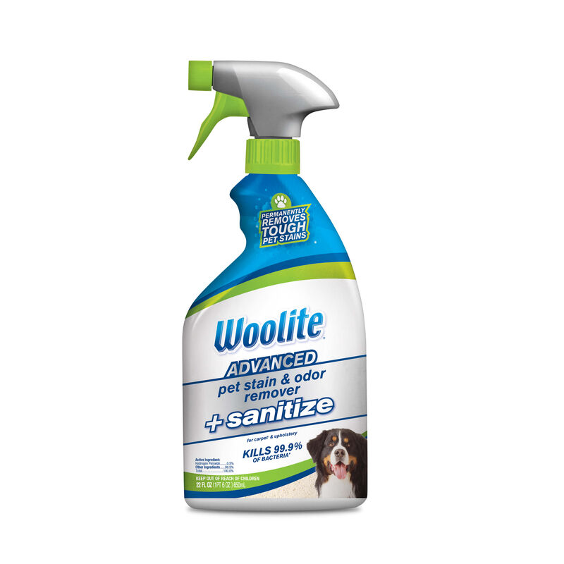Woolite Advanced Pet Stain & Odor Remover + Sanitize Formula 11521 Hero