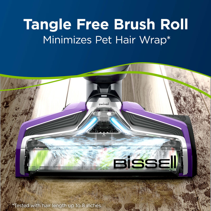 CrossWave Multi-Surface Wet Dry Vac PET Multi-Surface Brush Roll 1613568 Tangle Free