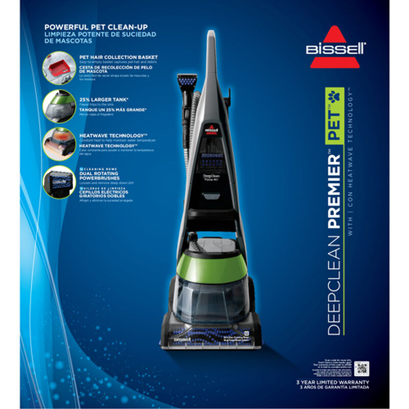 DeepClean Premier Pet Carpet Cleaner 17N4 Product Packaging