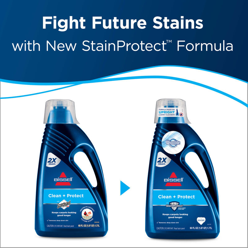 Clean + Protect Carpet Cleaning Formula 62E52 BISSELL Formula Future Stains