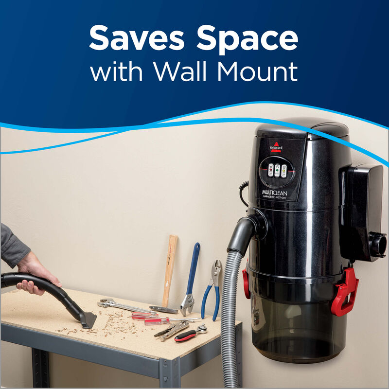 Garage Pro Wet/Dry Vac Wall Mount