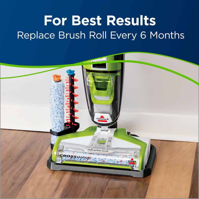 CrossWave Multi-Surface Wet Dry Vac PET Multi-Surface Brush Roll 1613568 Replace