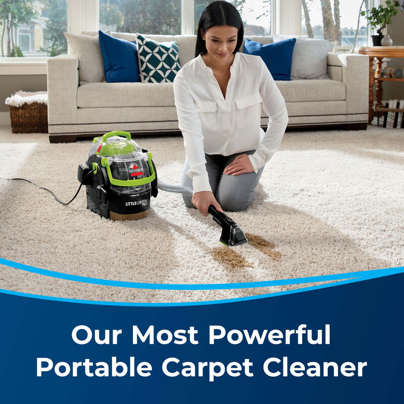BISSELL Little Green Pro Portable Carpet Cleaner 2505 Powerful