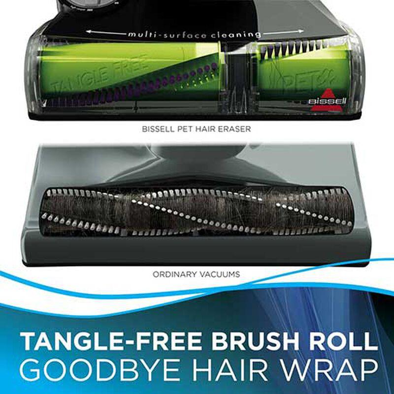 BISSELL Pet Hair Eraser Vacuum no hair wrap, best vacuum for pet hair, bissell pet hair eraser, best vacuums for pet hair