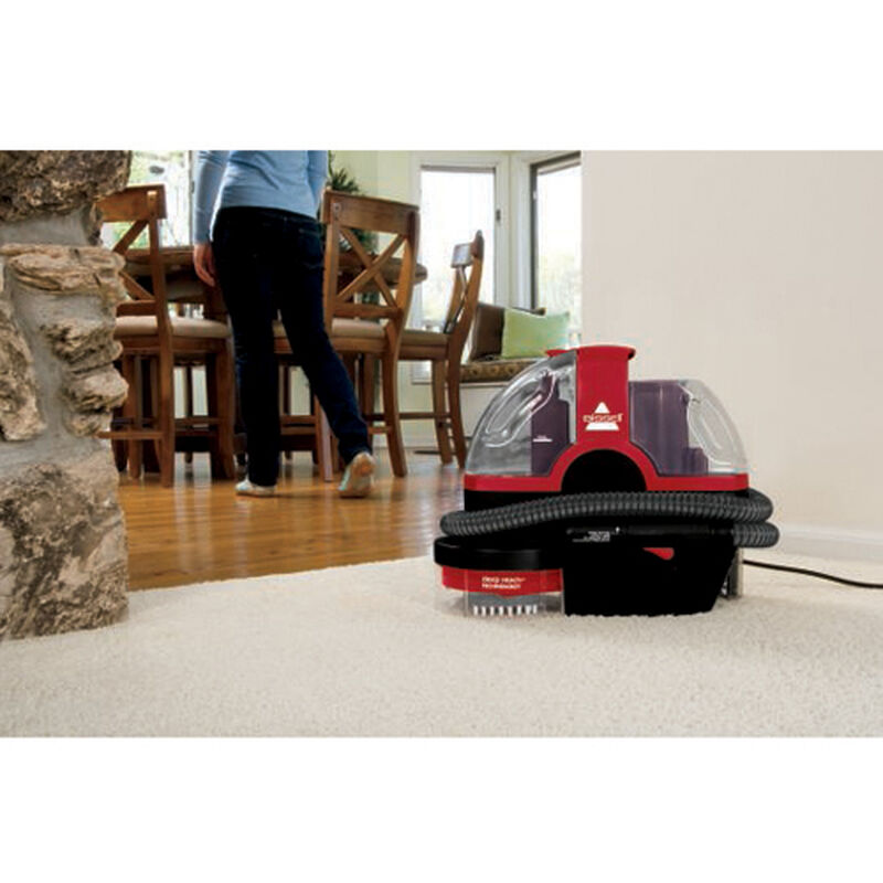 Spotbot Pet Portable Carpet Cleaner 33N8T Hands Free Cleaning