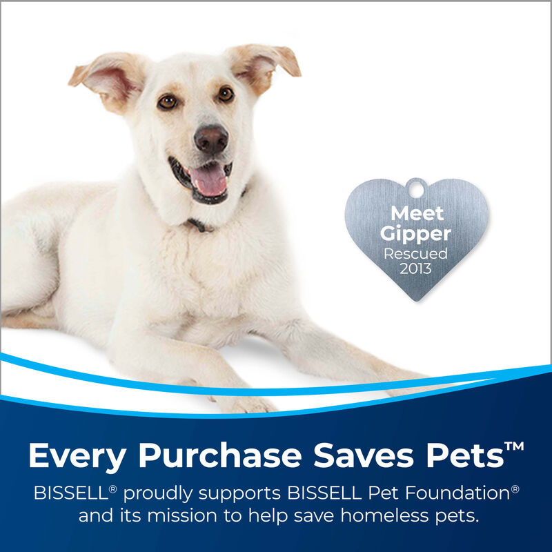 BISSELL® CrossWave® All-in-One Multi-Surface Wet Dry Vac 1785A Saves Pets