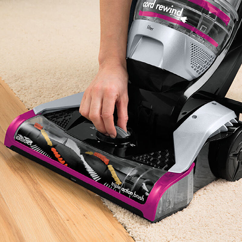 Cleanview Plus Rewind 13321 BISSELL Vacuum Cleaners Height Adjustment