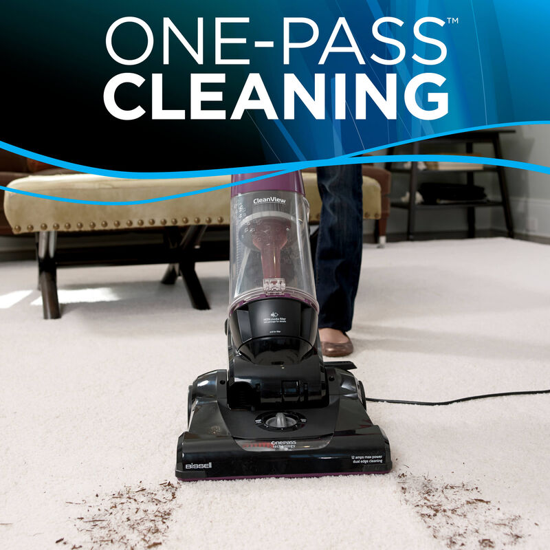 BISSELL Cleanview OnePass Vacuum Cleaning