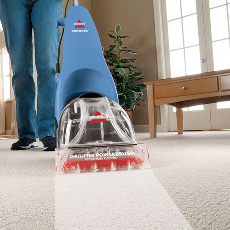 Powerease Carpet Cleaner 76R9 Cleaning Path