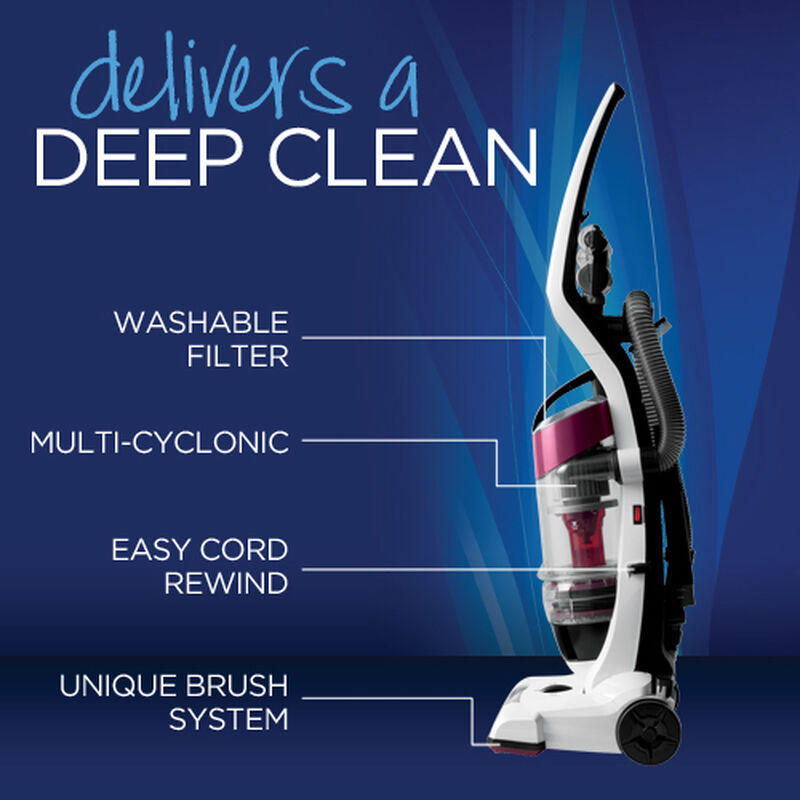 CleanView Plus Upright Vacuum 3583 Product Features