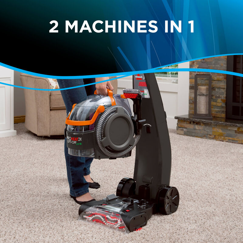 Proheat 2X Lift-Off Detachable Portable Carpet Cleaner