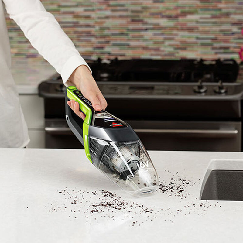 BOLT Cordless Hand Held Vacuum Counter Cleaning