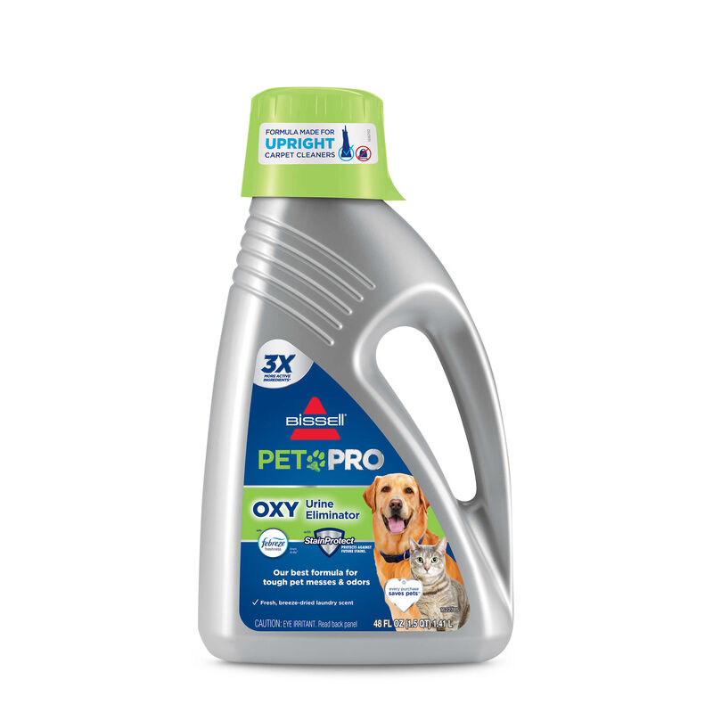 PET PRO OXY with Febreze 2216 BISSELL Carpet Cleaning Formulas Front