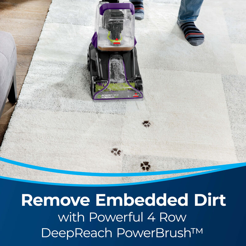BISSELL PowerForce™ PowerBrush Pet Advanced Carpet Cleaner 2910 Embedded Dirt