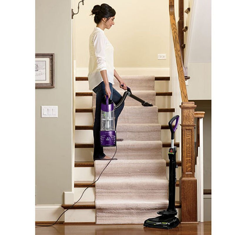 BISSELL PowerGlide® Deluxe Pet 27636 stairs vacuum cleaning