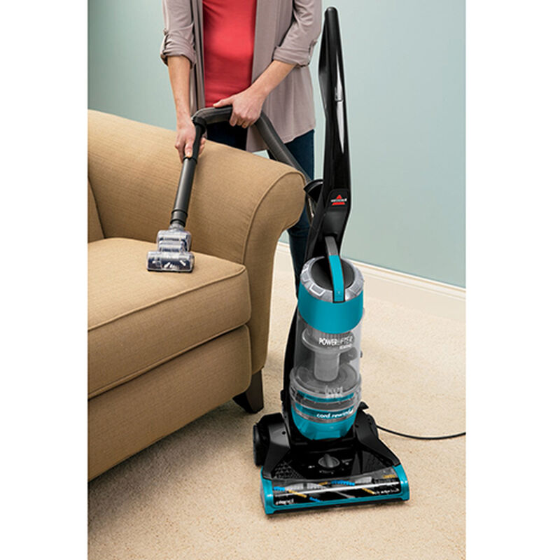 Powerlifter Rewind Vacuum 1413 upholstery cleaning