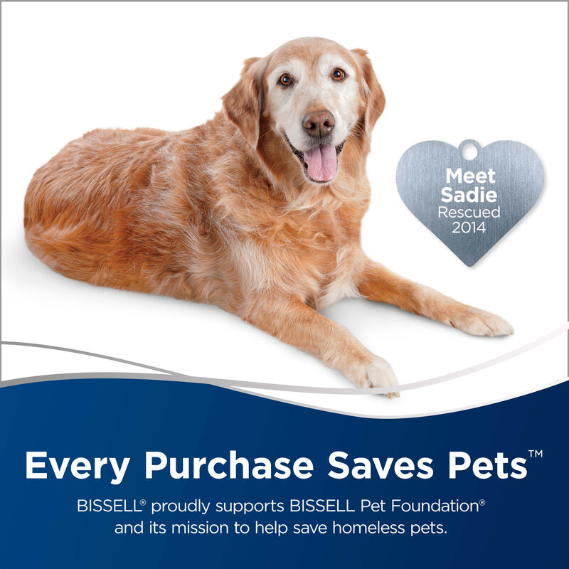 Dog Text: Every Purchase Save Pets