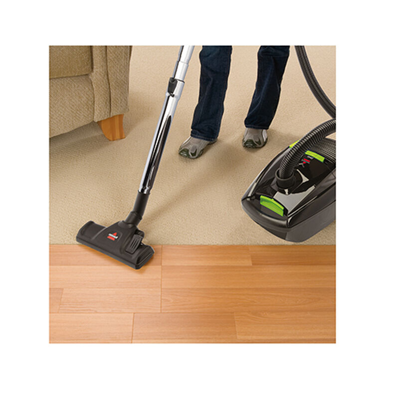 Zing Bagged Canister Vacuum Rug Vacuuming