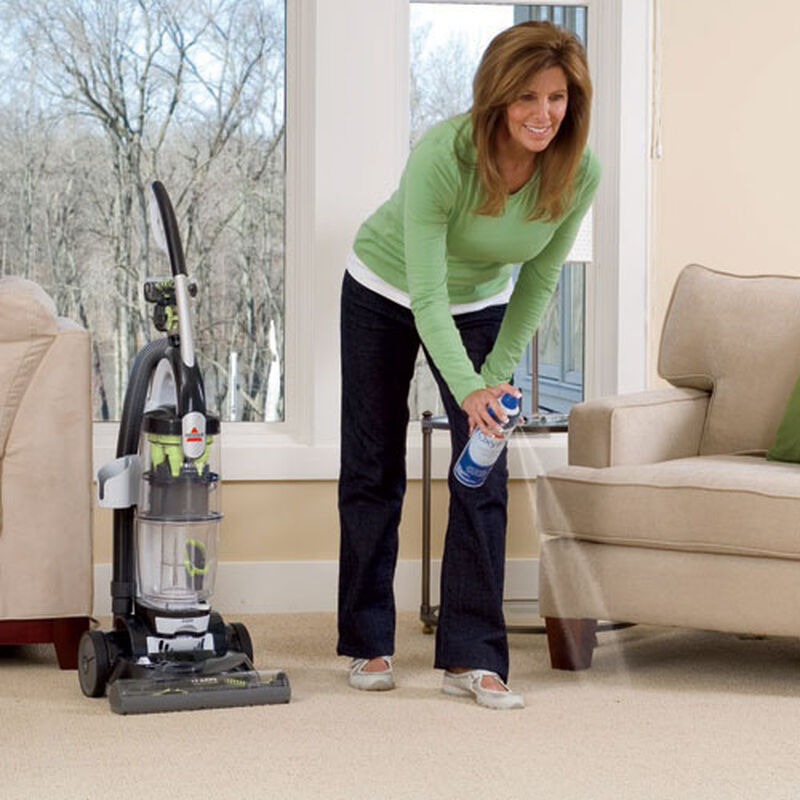 Trilogy MultiCyclonic Bagless Vacuum 81M9 spot stain spray