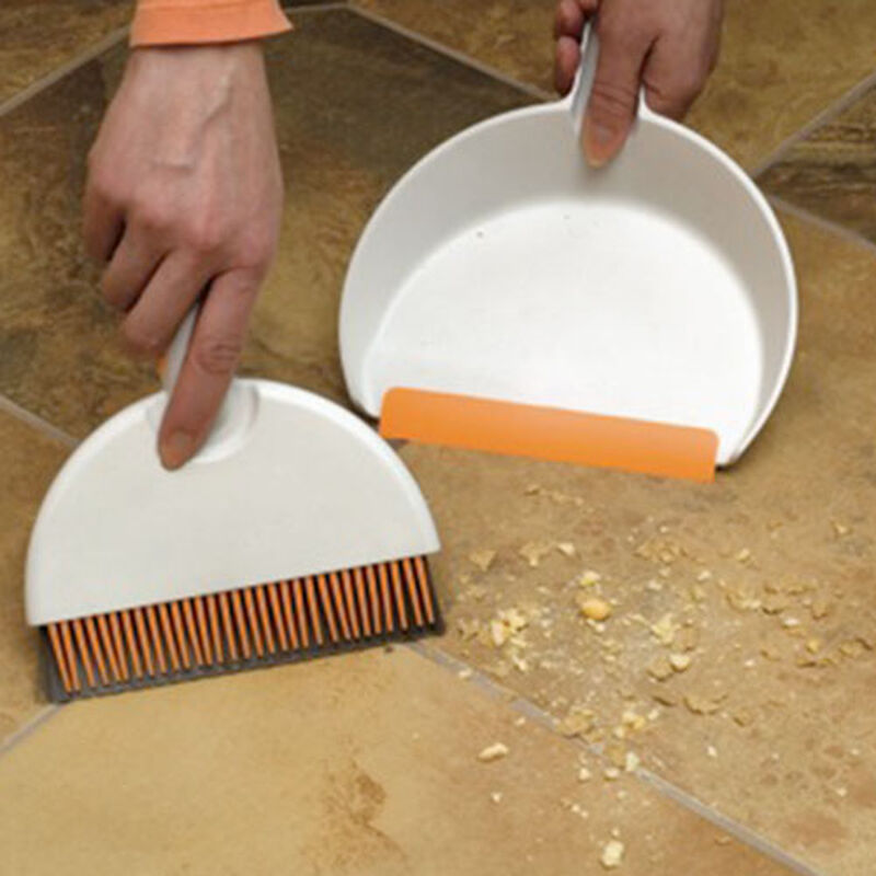 Mini dustpan and hand broom set 1745 cleaning crumbs