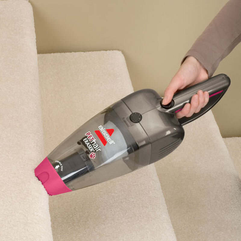 Pet Hair Eraser Handheld Vac 94V5 stairs