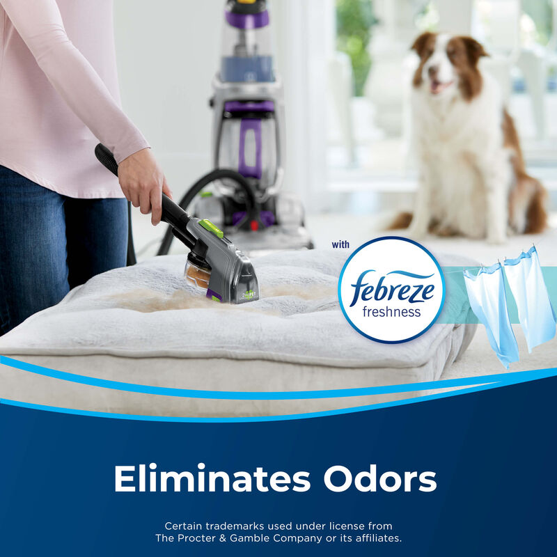 BISSELL Clean + Refresh Febreze Carpet Formula 2276 Carpet Cleaning Formula Odors