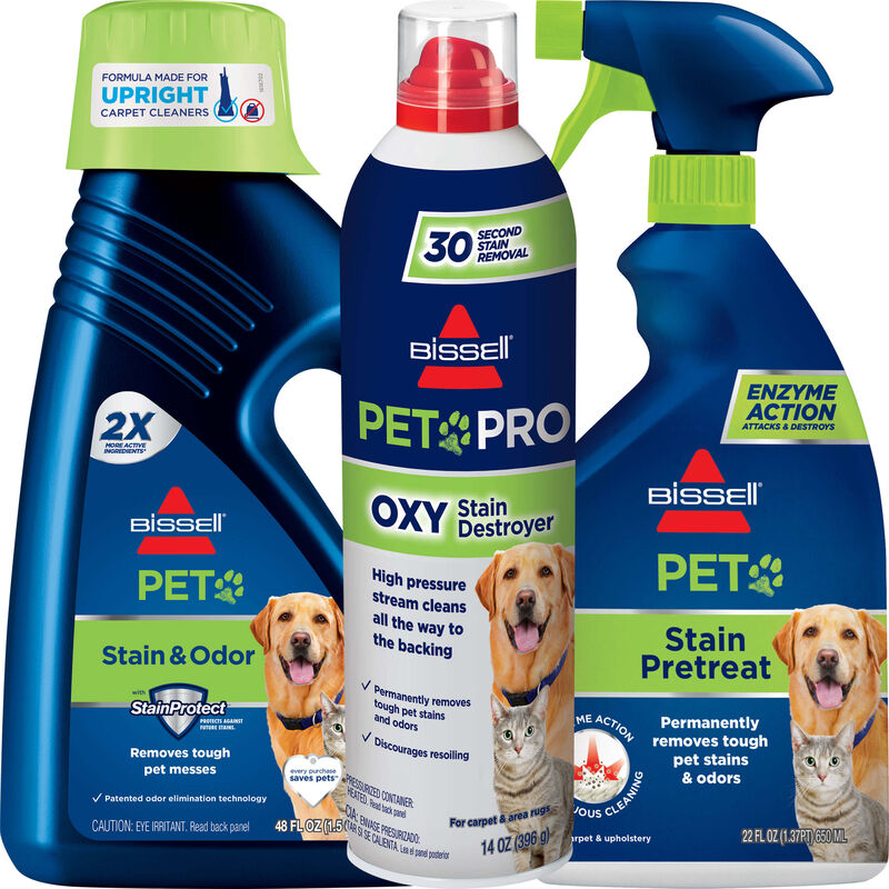 BISSELL Pet Stain Formula Kit