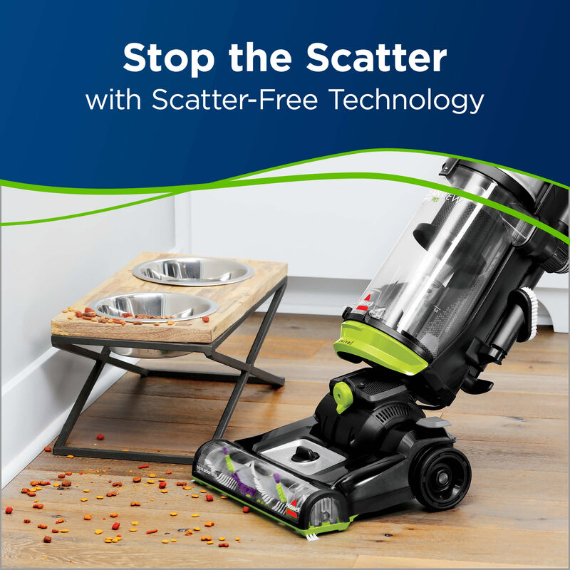 Cleanview Swivel Pet Scatter Free Technology
