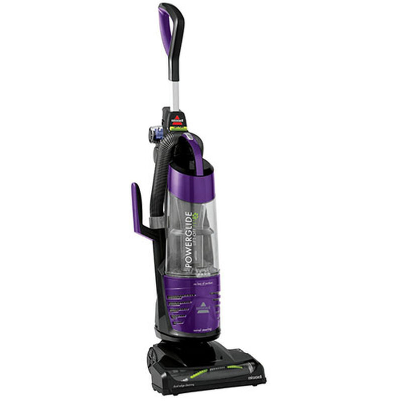 BISSELL PowerGlide® Deluxe Pet 27636 right vacuuming