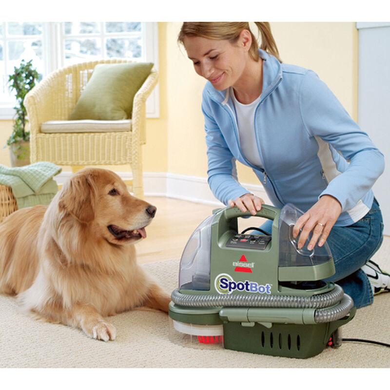 Spotbot Portable Carpet Cleaner 12005 Hands Free Spot Cleaning